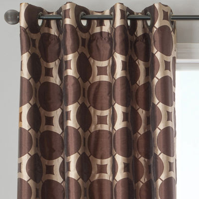 Edison Circle Grommet-Top Curtain Panel