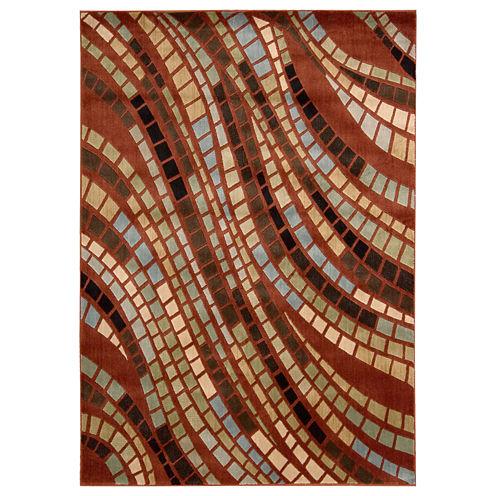 Nourison® Brick Road Rectangular Rugs