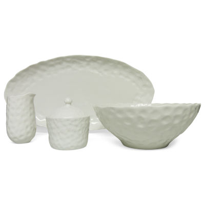 Vanilla Marble 5-pc. Serving Set