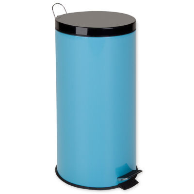 Honey-Can-Do® 30-Liter Metal Trash Can + Bucket