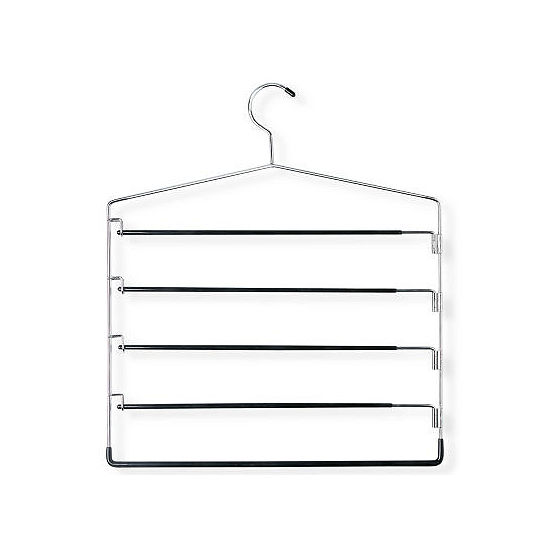 Honey-Can-Do® 2-Pack of 5-Tier Swing-Arm Pants Hangers