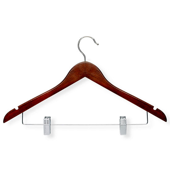 Honey-Can-Do® 12-Pack Wood Suit Hangers