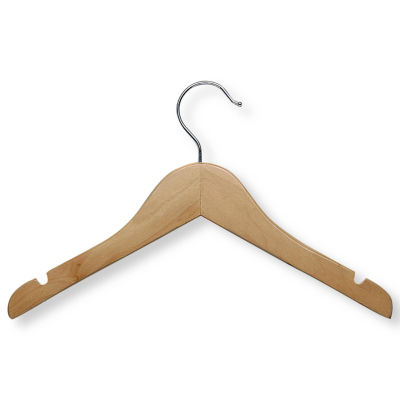 Honey-Can-Do® 10-Pack Kids' Wood Hangers