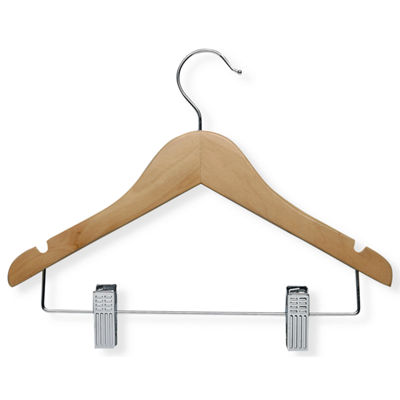 Honey-Can-Do® 10-Pack Kids' Basic Hangers + Clips