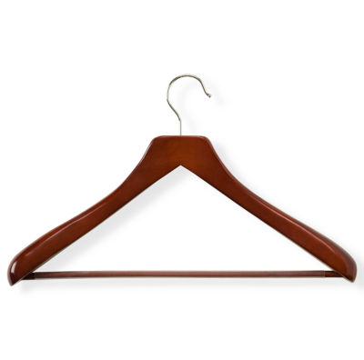 Honey-Can-Do® Deluxe Contoured Suit Hanger + Nonslip Bar