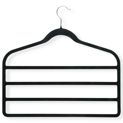 Honey-Can-Do® 4-Pack Velvet Touch 4-Tier Hangers
