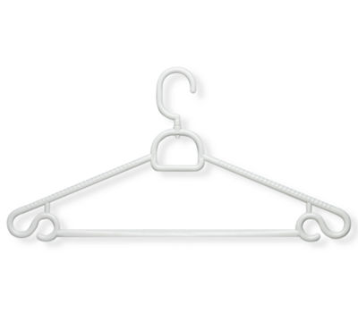 Honey-Can-Do® 30-Pack Tubular Hangers