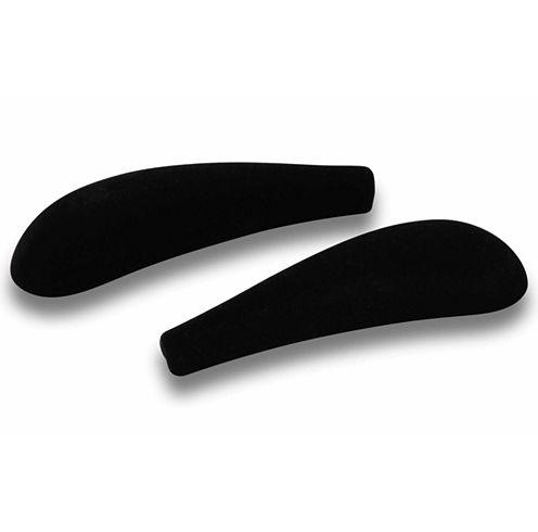 Honey-Can-Do® 20-Pack Black Velvet Touch Shoulder Savers