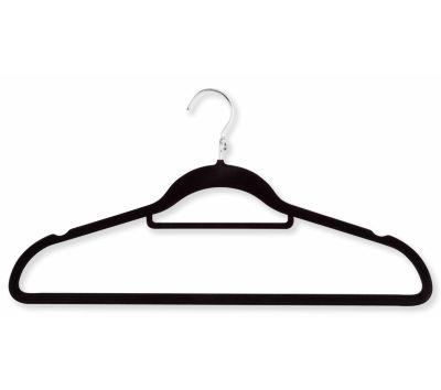 Honey-Can-Do® 18-Pack Velvet Touch Cascading Suit Hangers