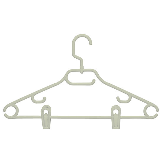 Honey-Can-Do® Swivel Hangers + Dress Notch & Clips