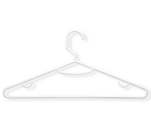 Honey-Can-Do® 60-Pack White Plastic Hangers