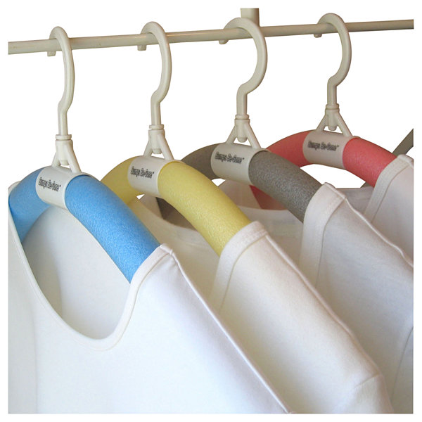 Luxury Living Bumps Be-Gone Hangers 8-Pack