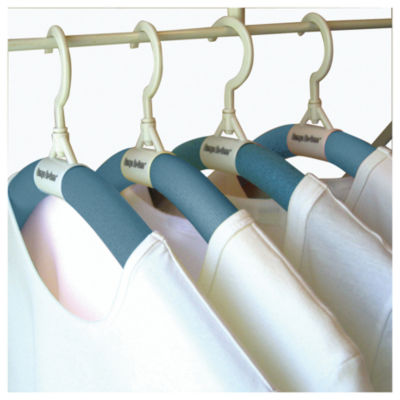 Luxury Living Bumps Be-Gone Hangers 12-Pack