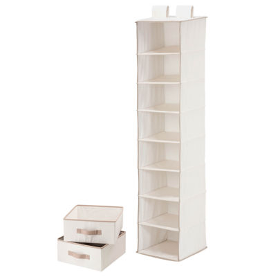 Honey-Can-Do® 8-Shelf Organizer + 2 Drawers