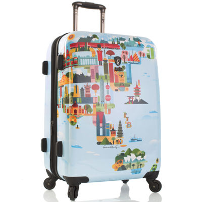 "Heys® FTV World Map 26"" Hardside Spinner Luggage"