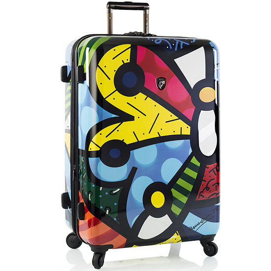 """Heys® Britto Butterfly 30"""" Hardside Spinner Upright Luggage"""