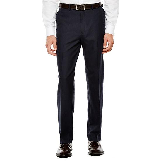 IZOD® Navy Plaid Suit Pants - Classic Fit