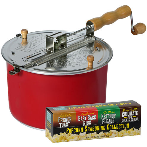 Wabash Valley Farms™ Color-Changing Whirley-Pop™ Stovetop Popper and Seasoning Set