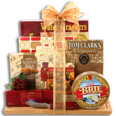 Alder Creek Cheese Cutting Board Gift Set