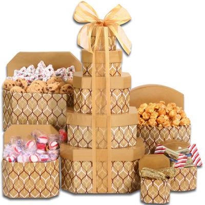Alder Creek Holiday Sweet Treats Gift Tower