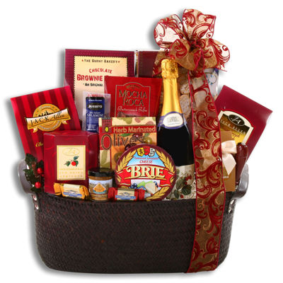 Alder Creek Holiday Classics Sweet and Savory Gift Basket