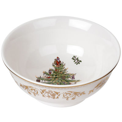Spode® Christmas Tree Gold Collection Porcelain Small Bowl