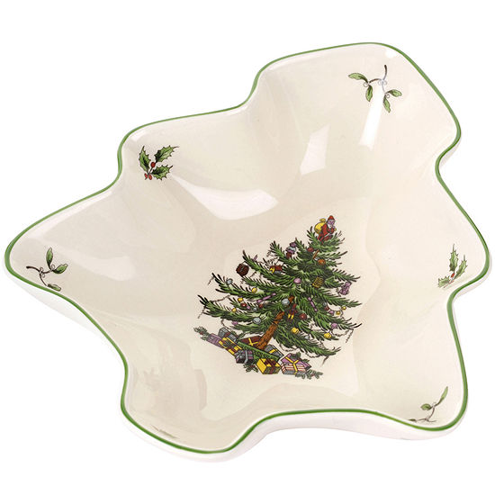 Spode® Christmas Tree-Shaped Dish