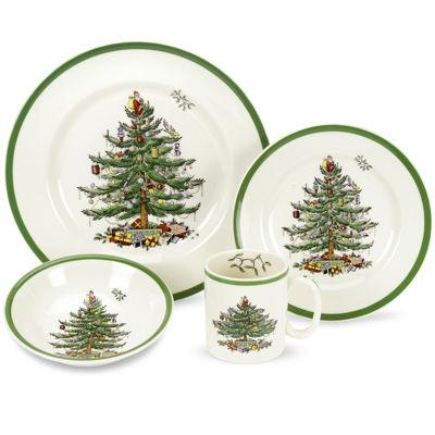 Spode® Christmas Tree 4-pc. Place Setting