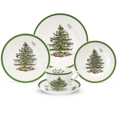 Spode® Christmas Tree 5-pc. Place Setting