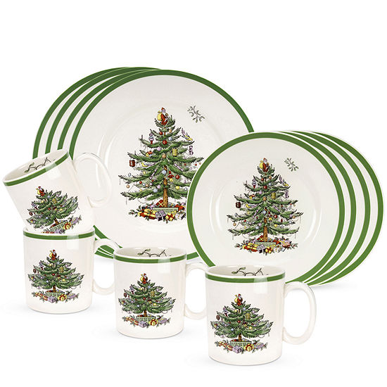 Spode Christmas Tree China Sale: Spode® Christmas Tree 12-pc. Dinnerware Set , Color: Multi