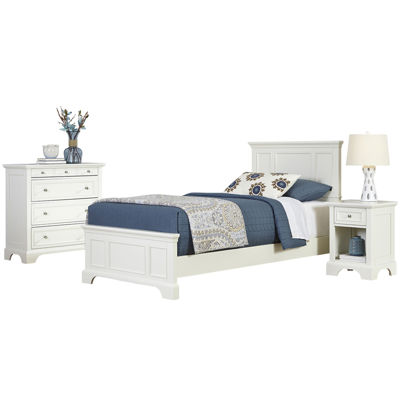 Walton Twin Bed, Nightstand and Chest