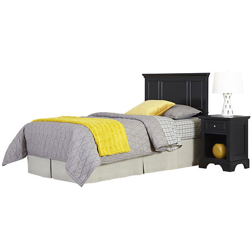 Rockbridge Twin Headboard and Nightstand