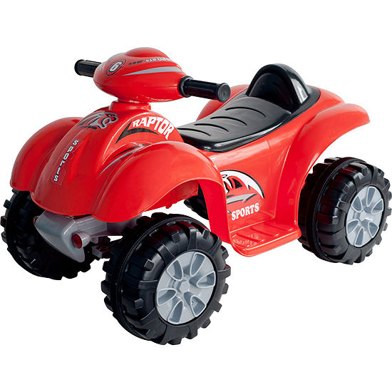 Lil Rider Battery Powered Red Dinosaur Ride On 4 Wheeler