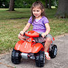 Lil' Rider Battery-Powered Red Dinosaur Ride-on 4 Wheeler
