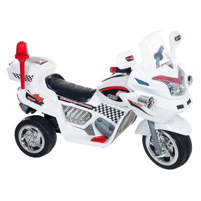 Lil' Rider White Police Connection Ride-on Trike