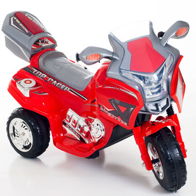 Lil' Rider Red Top Racer Sport Ride-On Bike