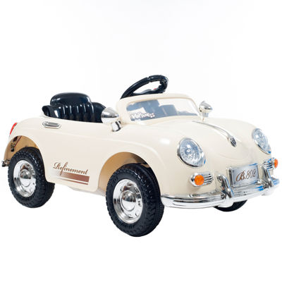 Lil' Rider 58 Speedy Sportster Battery-Operated Ride-On Classic Car with Remote