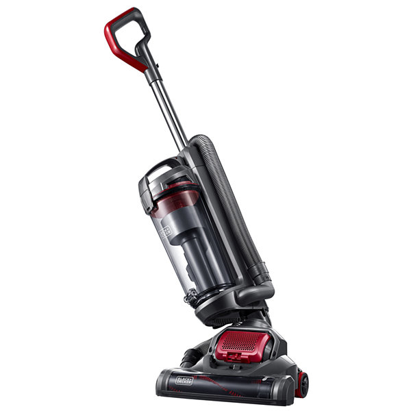 Black Decker AIRSWIVELTM Versatile Ultra Light Weight Upright Vacuum Cleaner BDASV102