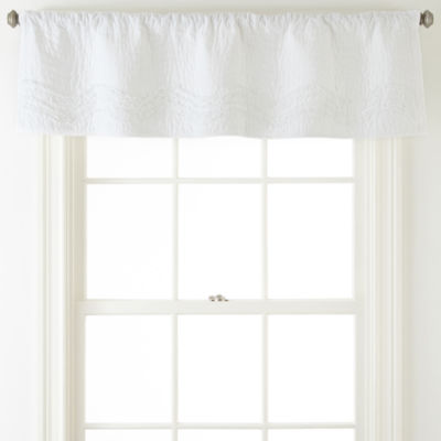 JCPenney Home™ Cotton Classics Ruffle Valance