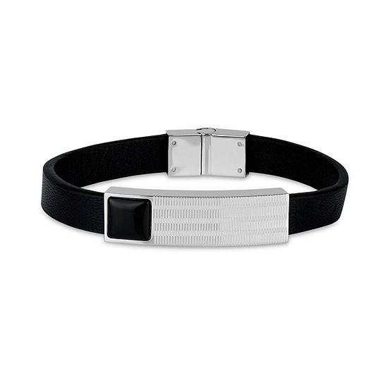 Stainless Steel 8 1/2 Inch Id Bracelet