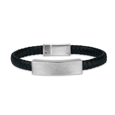 Stainless Steel 8.5 Inch Id Bracelet