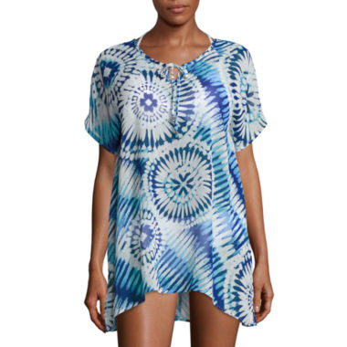 a.n.a Tie Dye Chiffon Dress