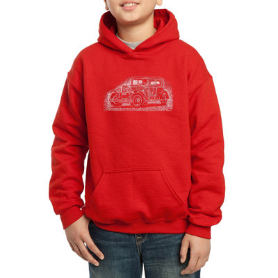 Los Angeles Pop Art Some Of Americas Most Notorious Mobsters Boys Hoodie-Big Kid