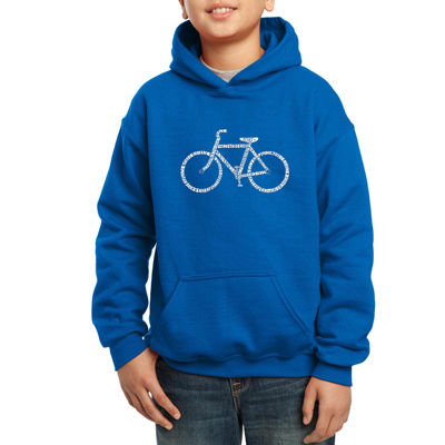 Los Angeles Pop Art The Word Save A Planet Hoodie-Big Kid Boys