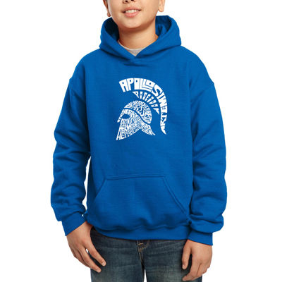Los Angeles Pop Art Main 14 Greek Gods And Olympian Deities Hoodie-Big Kid Boys