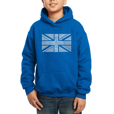Los Angeles Pop Art Major Uk Cities Hoodie-Big Kid Boys