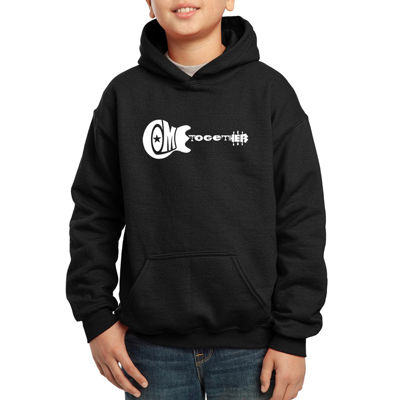 Los Angeles Pop Art Come Together Hoodie-Big Kid Boys