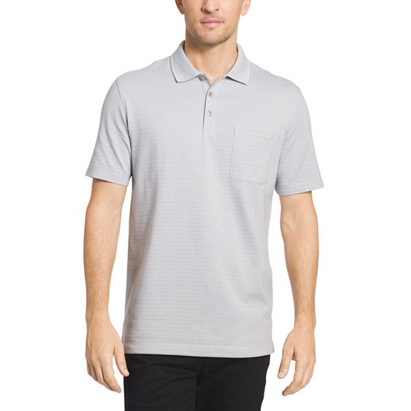 Van heusen short sleeve flex stripe polo shirt jcpenney for Jcpenney ladies polo shirts
