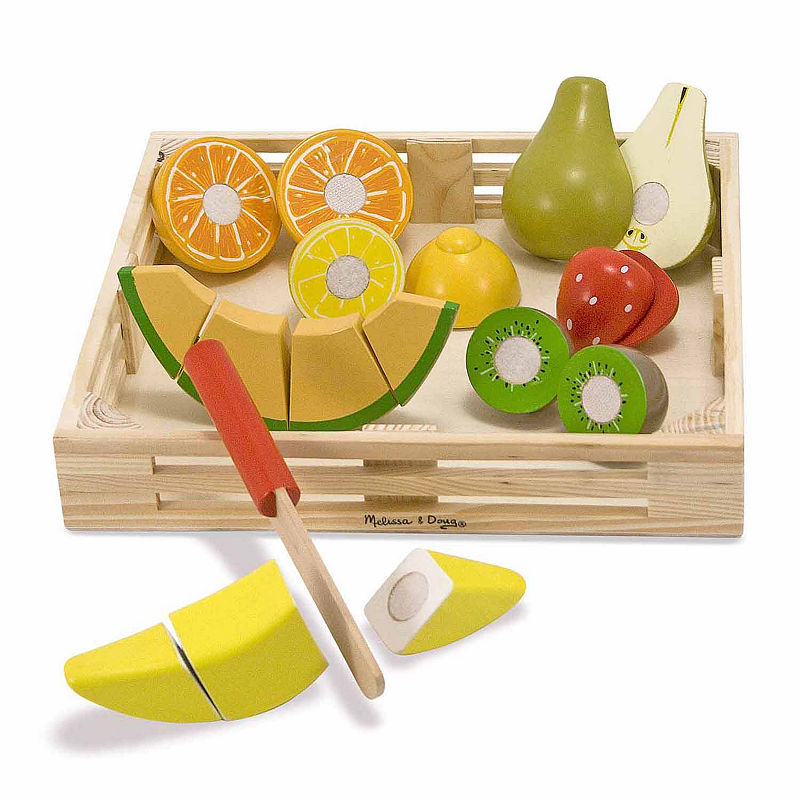Melissa & Doug Cutting Fruit, Multi-colored, One Size