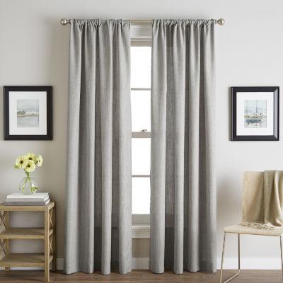Chf Sutherland Rod-Pocket Sheer Curtain Panel